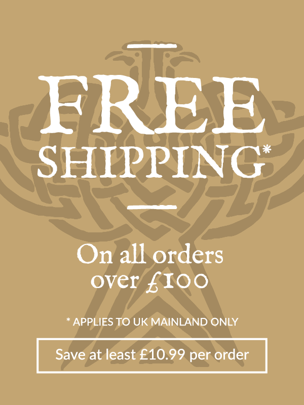 Free shipping on all orders over £100. Save at least £10.99 per order. Applies to UK mainland only.